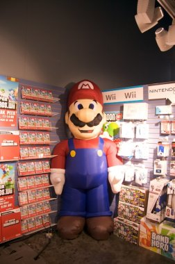 Super Mario en Game Stop
