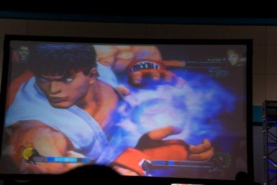 Pantalla de la Final de Street Fighter 4