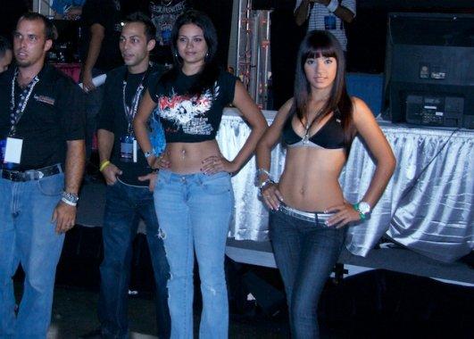 Ring Girls de Maximum Fighting Championship