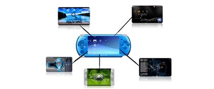 ejecuta los temas (themes) en formato  ctf en el PSP de